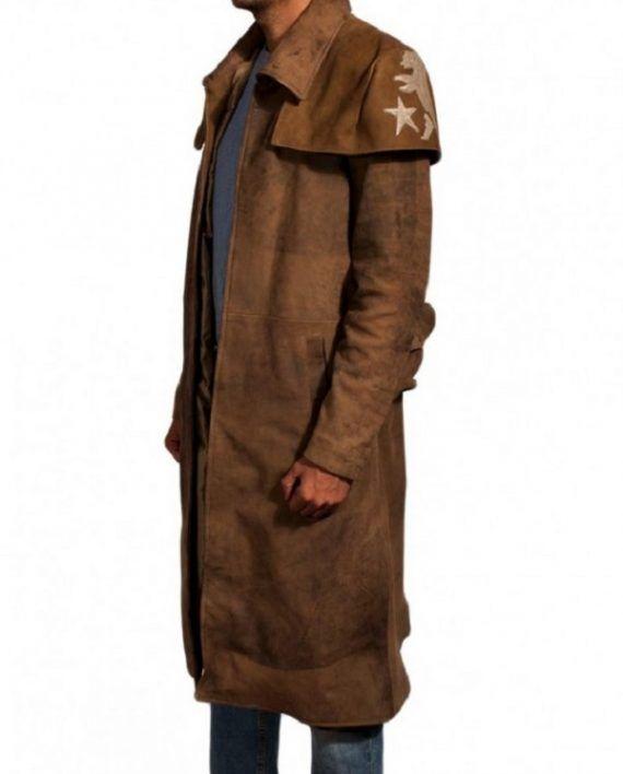 Fallout New Vegas Veteran Ranger Costume Leather Coat