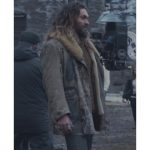 Aquaman Justice League Arthur Curry (Jason Momoa) Brown Leather Coat