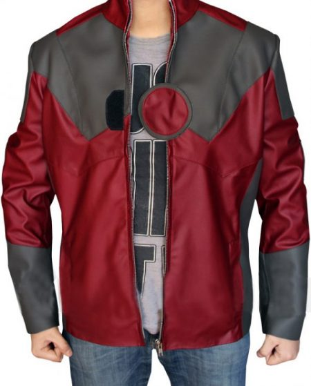 The Avengers Age of Ultron Iron Man Leather Jacket