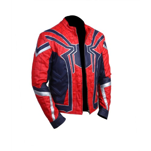 Avengers-Infinty-Wsar-Spider-Man-Leather-Jacket-4
