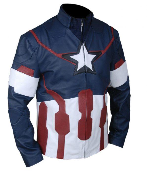 Captain America Avengers 2 Age of Ultron Chris Evans Jacket