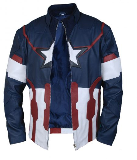 Captain America Avengers 2 Age of Ultron Chris Evans Jacket