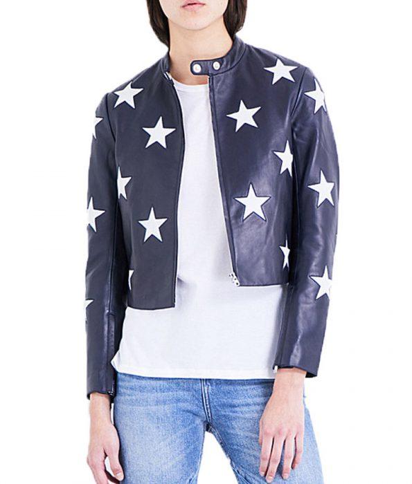Cheryl-Blossom-Star-Printed-Jacket