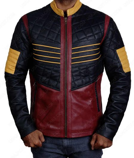 The Flash Cisco Ramon (Carlos Valdes) Vibe Costume Leather Jacket