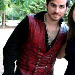 Once Upon Time Captain Hook Red Leather Vest