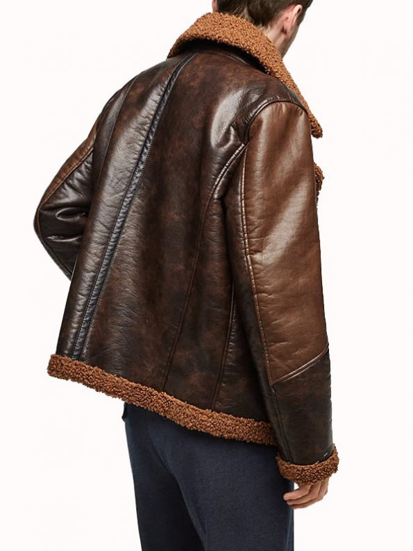 Dean-Ambrose-Shearling-Leather-Jacket