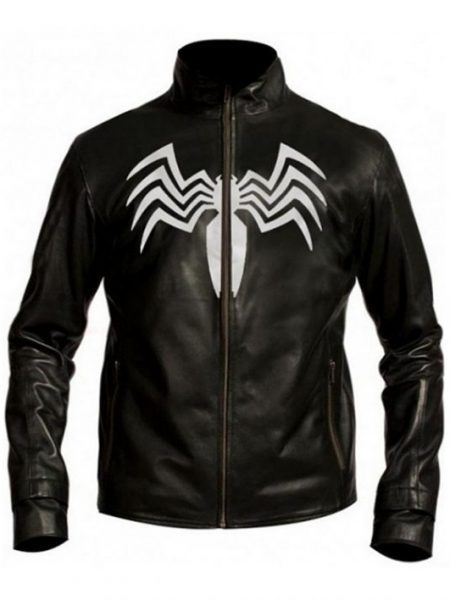 Spider Man 3 Eddie Brock Venom Black Jacket
