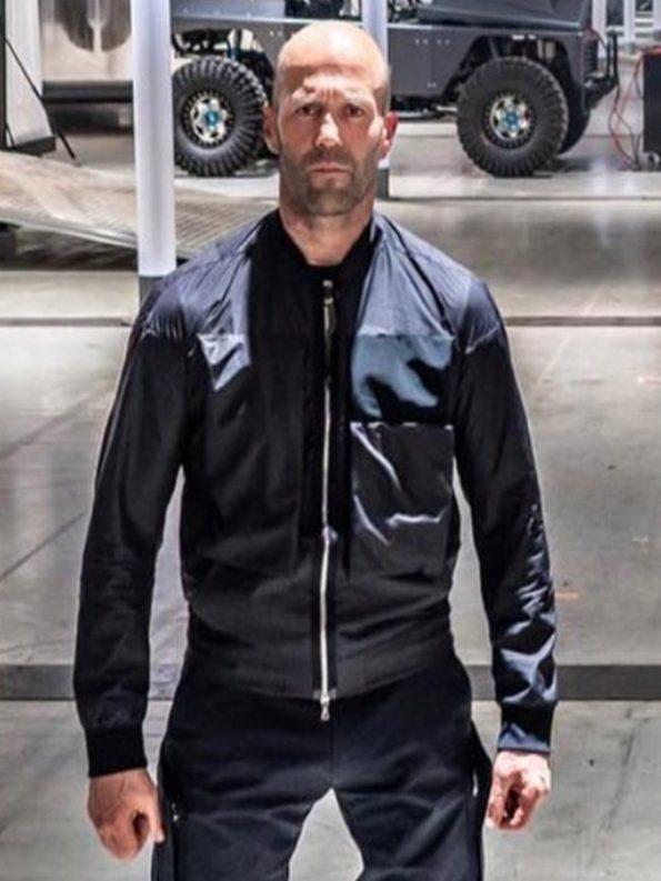 Jason-Statham-Black-Cotton-Jacket-from-Hobbs-Shaw