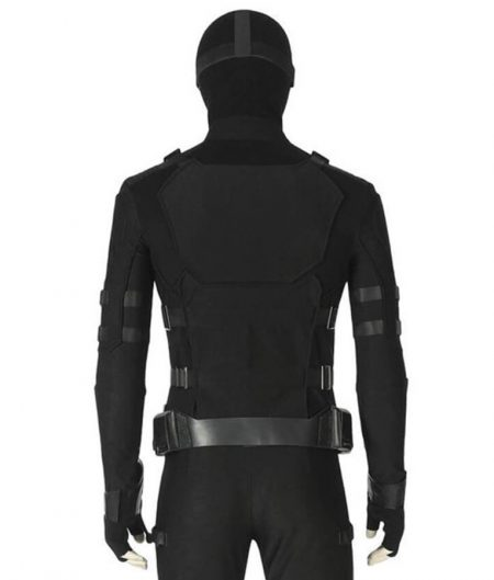 Spider Man Far From Home Black Jacket