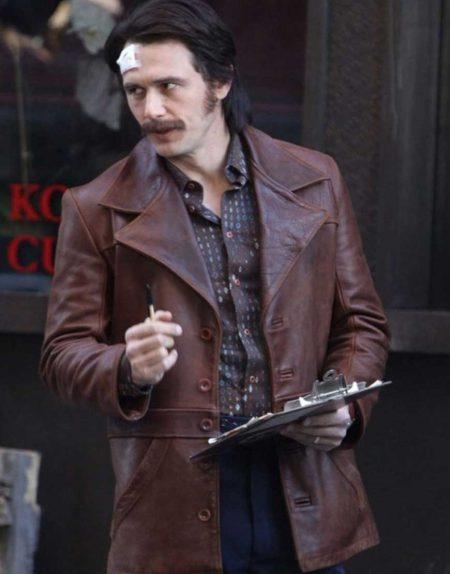 The Deuce James Franco Vintage Leather Jacket