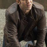 Jessica Jones Wil Traval Distressed Brown Jacket