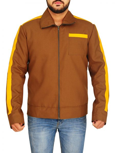 David Haller Legion Brown Cotton Jacket