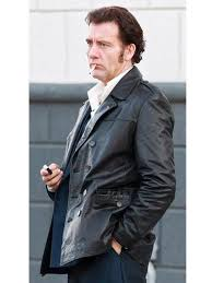 Clive Owen Blood Ties Black Leather Jacket