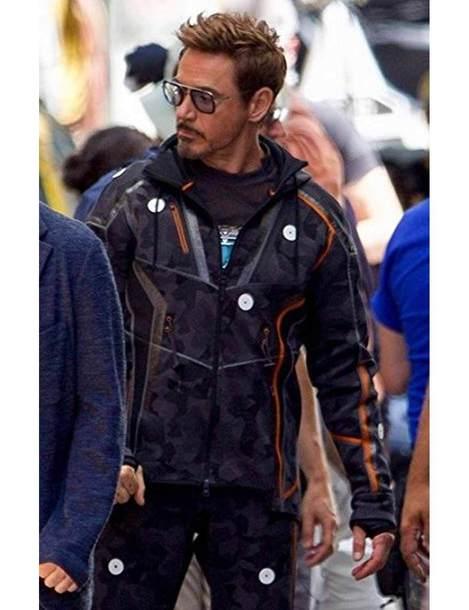 Avengers Tony Stark Infinity War Jacket