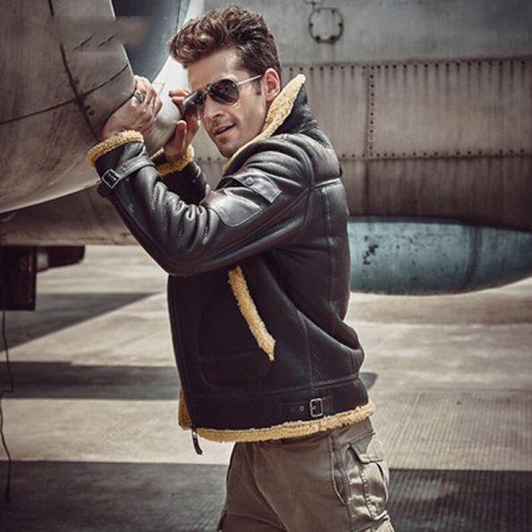 Chaqueta-de-piel-de-oveja-aviador-B3-para-hombre-chaqueta-de-motocicleta-chaqueta-de-cuero-de (2)