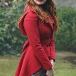 Madelaine-Petsch-Riverdale-TV-Series-Red-Jacket