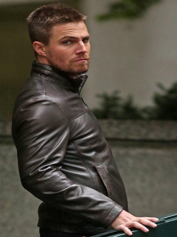 Arrow-Stephen-Amell-Leather-Jacket-2