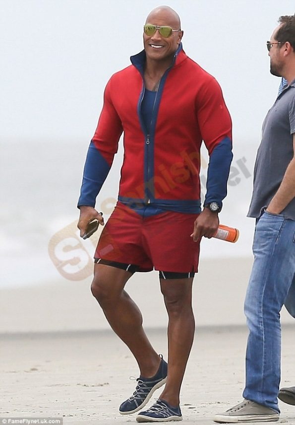 Baywatch-Dwayne-Johnson-Red-Jacket