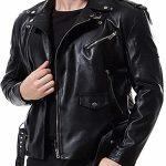 Double-Belt-Punk-Motorcycle-Faux-Leather-Jacket