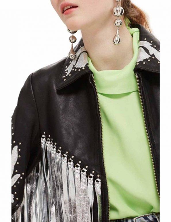 Harley-Quinn-Black-Fringe-Jacket