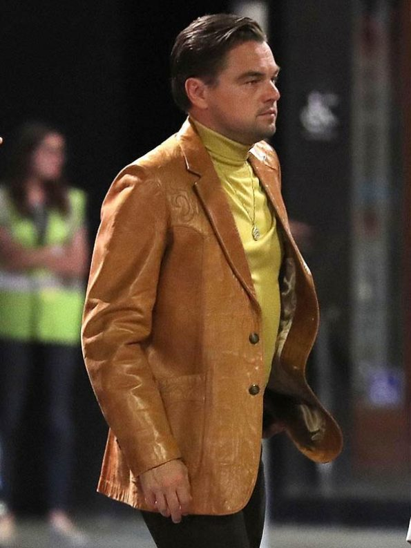 Leonardo-DiCaprio-Once-Upon-A-Time-In-Hollywood-Brown-Blazer