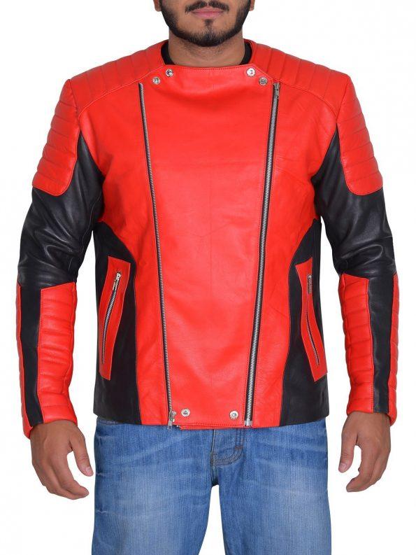 Martin-Garrix-Red-Black-Jacket-11