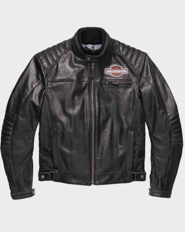 Mens-Legend-Harley-Davidson-Black-Motorcycle-Leather-Jacket