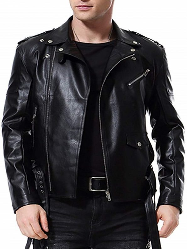 Motorcycle-Faux-Leather-Jacket-For-Mens