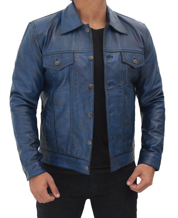 Men-blue-trucker-jacket