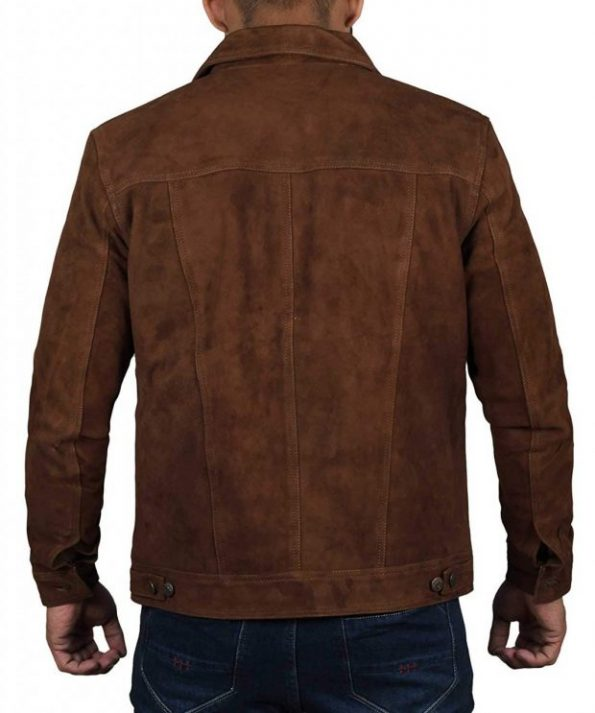 Mens-dark-brown-suede-leather-jacket-620×743