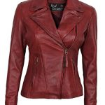 Red-Leather-Jacket-Women