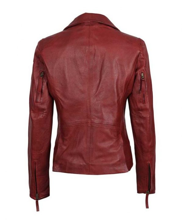 Womens-maroom-leather-jacket-red-620×760
