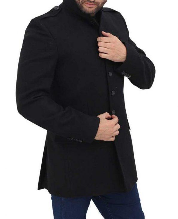 3-4-Length-black-Coat-for-Mens-620×760
