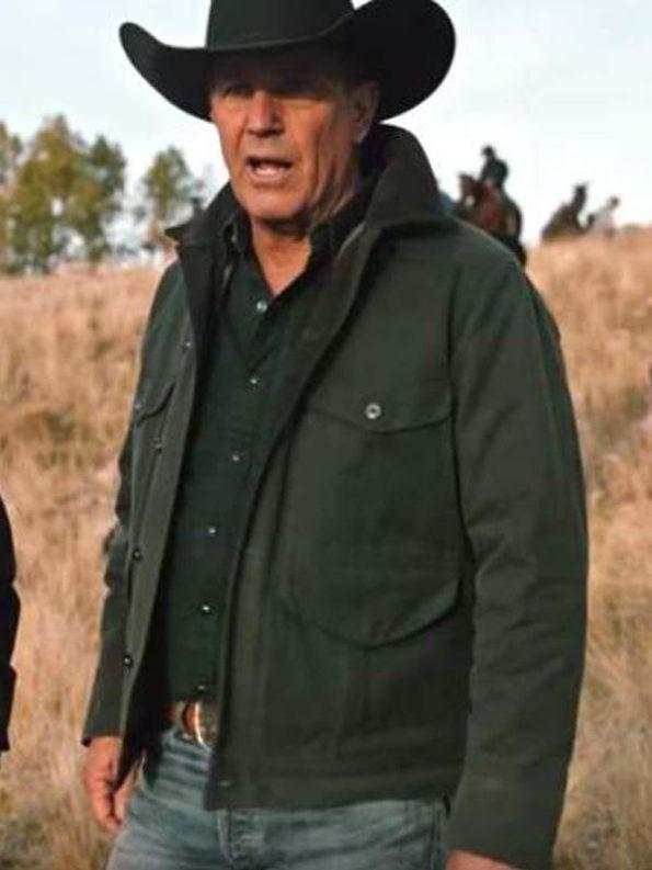 Kevin-Costner-Yellowstone-John-dutton-Green-Jacket